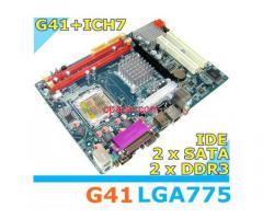 Esonic Intel G41 chipset motherboard DDR3 LGA775