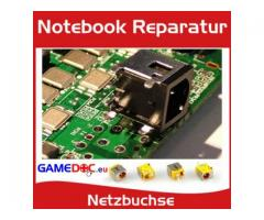 Notebook Laptop Reparatur Strombuchse Netzbuchse Netzteilbuchse