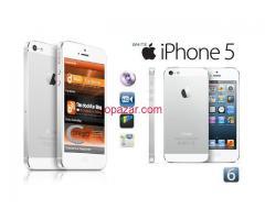 Apple iPhone 5 (Latest Model) - 16GB - White & Silver (Factory Unlocked)