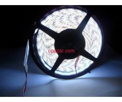 LED Strip Cool White 5630 SMD 60 LED/meter 300led Waterproof IP65 Free Shipping 8000K Lumens